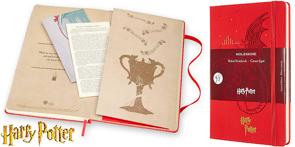Chollo Cuaderno grande Moleskine Harry Potter de edición limitada