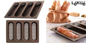Chollo Molde de silicona Lékué para baguettes