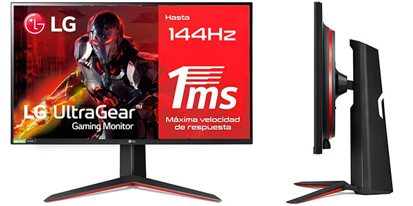 "Chollo Monitor gaming LG UltraGear 27GL850-B QHD de 27"" y 144 Hz"