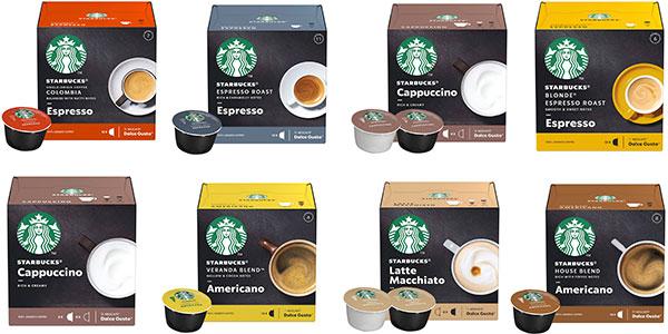 Chollo Pack de 72 cápsulas Starbucks By Nescafe Dolce Gusto