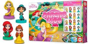 Chollo Parchís Ludo Princesas Disney con figuras 3D