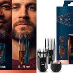 Chollo Set Recortadora de barba y cortapelos King C. Gillette