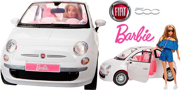 Chollo Set Barbie y Fiat 500