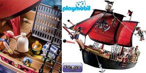 Chollo Barco Pirata Calavera de Playmobil