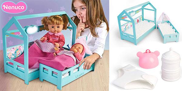 Chollo Set Hermanitas Nenuco a la cama con 2 muñecas