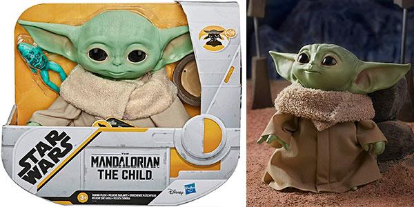 Chollo Peluche parlante Baby Yoda de The Mandalorian
