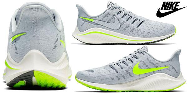 Perdóneme aquí mimar  Chollo Zapatillas de running Nike Air Zoom Vomero 14 para hombre por sólo  69,95€ (-50%)