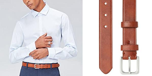 Comprar Cinturón clásico Amazon find. para hombre chollo