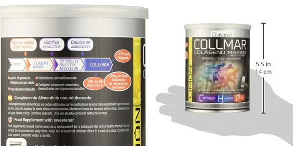 Colágeno hidrolizado COLLMAR Limón de 300 gramos chollo en Amazon