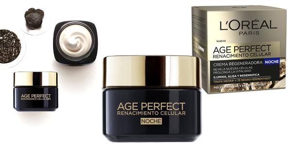 Crema Regeneradora de Noche L'Oreal Paris Age Perfect Renacimiento Celular de 50 ml barata en Amazon
