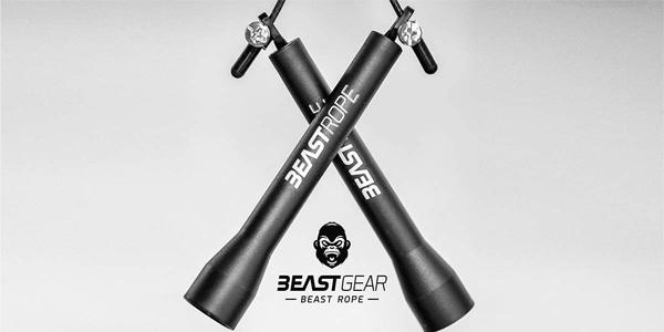 Cuerda para saltar de alta velocidad de Beast Gear chollo en Amazon