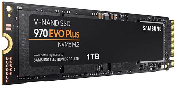 Disco SSD Samsung 970 EVO Plus de 1 TB NVMe M.2 barato