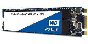 Disco SSD WD Blue 256 GB 3D NAND SATA