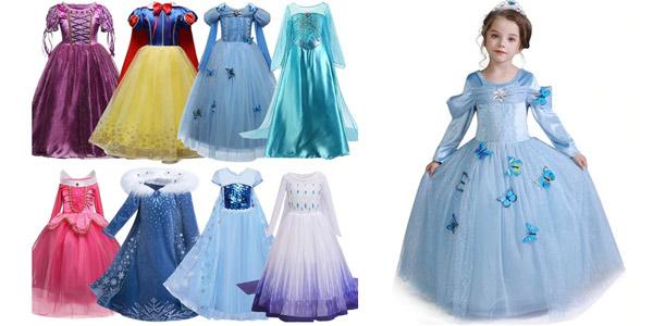 Disfraces de princesas Disney baratos en AliExpress