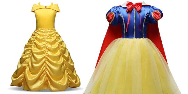 Disfraces de princesas Disney oferta en AliExpress