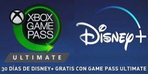 30 días de Disney+ gratis con Xbox Game Pass Ultimate