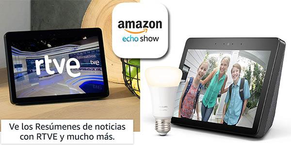 Echo Show 2ª generación pantalla inteligente oferta
