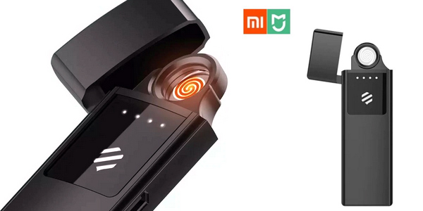 Encendedor eléctrico recargable sin llama Xiaomi Mijia barato en AliExpress