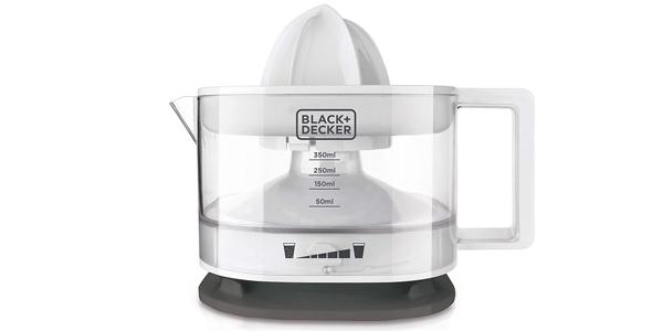 Exprimidor Black+Decker BXCJ25E de 350 ml y 25W barato en Amazon