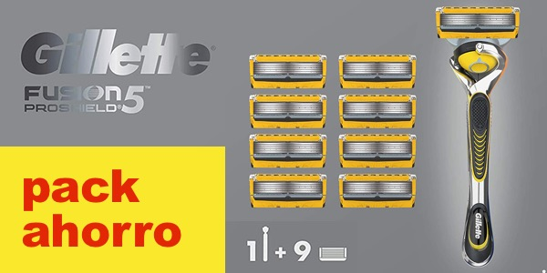 Gillette Fusion ProShield 5 cuchillas baratas
