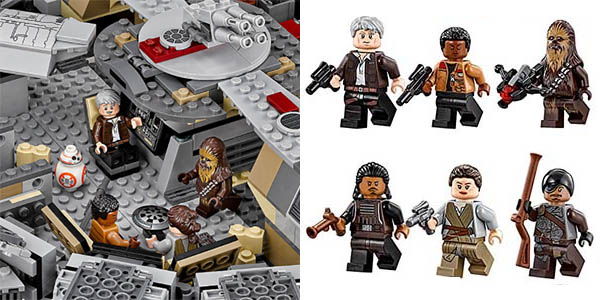 Halcón Milenario de Star Wars tipo LEGO en AliExpress