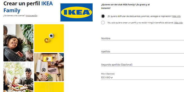 Ikea Family descuentos de Black Friday