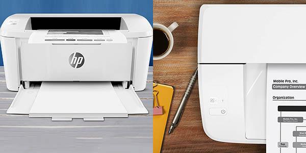 Impresora láser HP LaserJet Pro M15a en Amazon