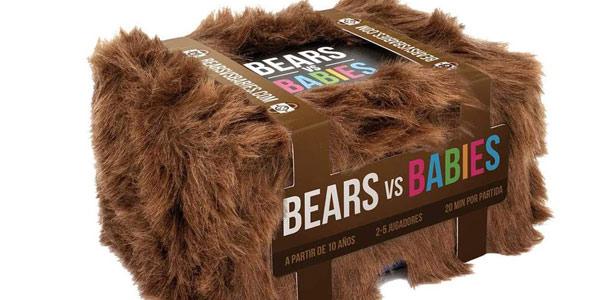 Juego de cartas Bears vs Babies de Asmodee barato en Amazon