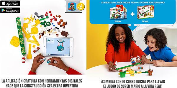 juego LEGO Super Mario Extensión Superderrape Planta Piraña barato