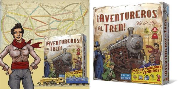 Juego de mesa ¡Aventureros al tren! de Days of Wonder (DW7281) barato en Amazon