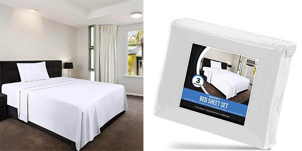 juego de sábanas Utopia Bedding oferta