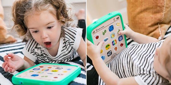 Baby Einstein Magic TouchTableta táctil madera oferta en Amazon