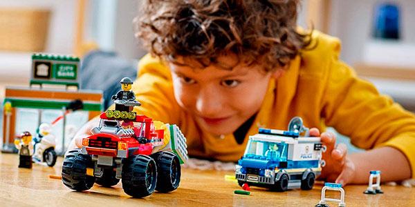 Set Atraco del Monster Truck de LEGO barato