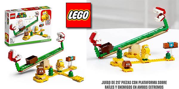 LEGO Super Mario Set de expansión Superderrape planta piraña oferta