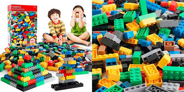 Lote de 1.000 piezas de tipo LEGO barato