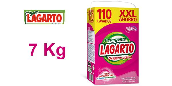 Lagarto Detergente Oxígeno Activo XXL 110 Lavados de 7 kg barato en Amazon