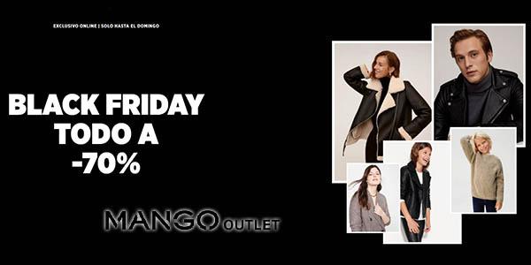 Mango Outlet Black Friday rebajas 2020