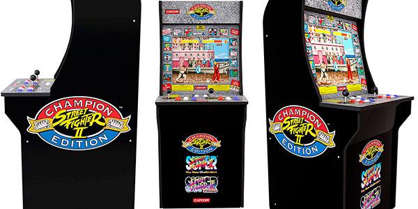 Máquina arcade Street Fighter 2 barata