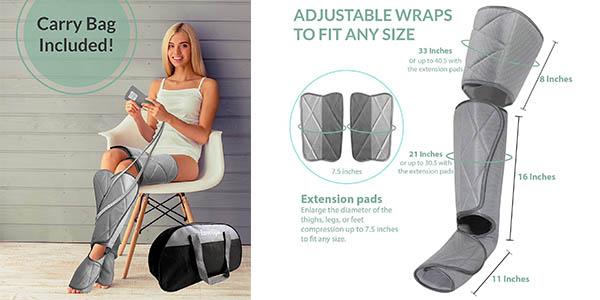 masajeador InvoSpa para piernas de relación calidad-precio alta