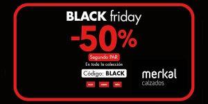 Merkal calzados Black Friday 2020
