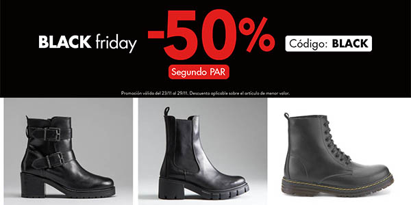 Merkal Calzados Black Friday descuentos zapatos