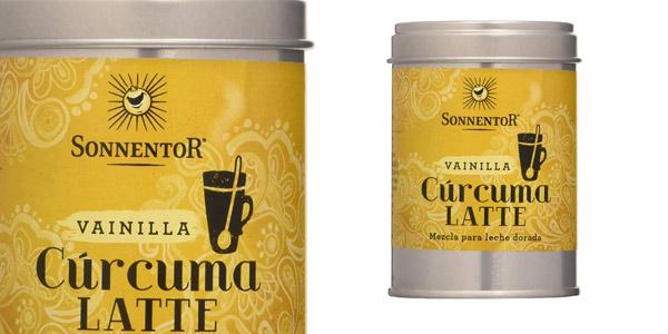 Mezcla de especias bio Cúrcuma & Vainilla Latte de 60 gr barato en Amazon