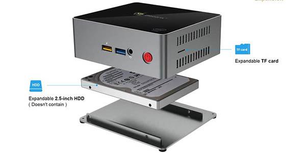 Mini PC Beelink J34 (Celeron J3455, 8GB, 128GB SSD, W10, HDMI 4K) barato