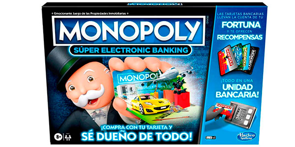 Monopoly Super Electrónico con datáfono barato