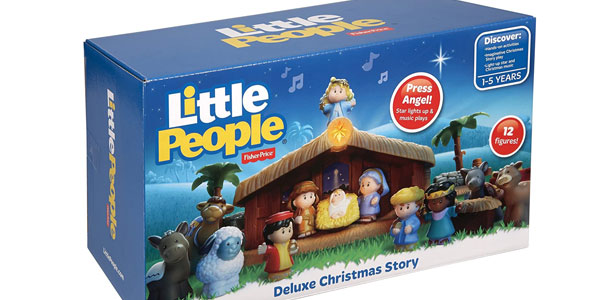Nacimiento Fisher-Price Little People Belén (Mattel J2404) oferta en Amazon