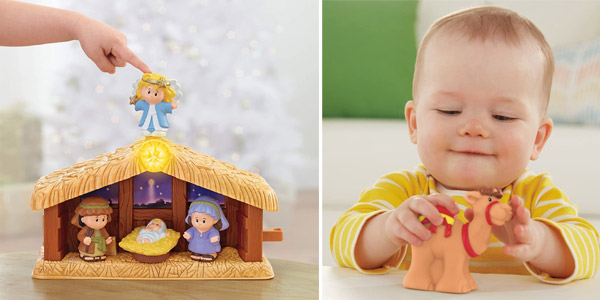 Nacimiento Fisher-Price Little People Belén (Mattel J2404) chollo en Amazon