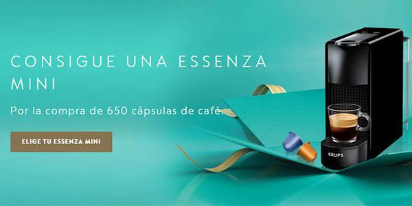 Nespresso promoción Black Friday 2020 cafetera regalo