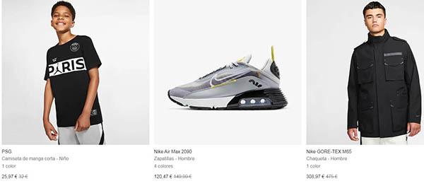 Nike Black Friday 2020 chollos
