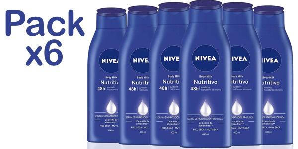 Pack NIVEA Body Milk barato
