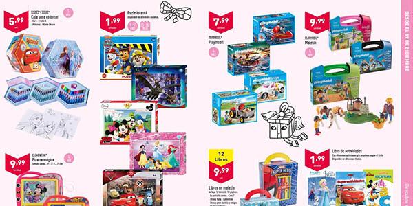 ofertas en el catálogo de juguetes Aldi
